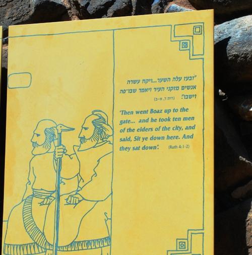 Ruth - Boaz - Gates of the City - Bethlehem - Kinsman Redeemer - Obed - Sandal - Levirite Marriage - David