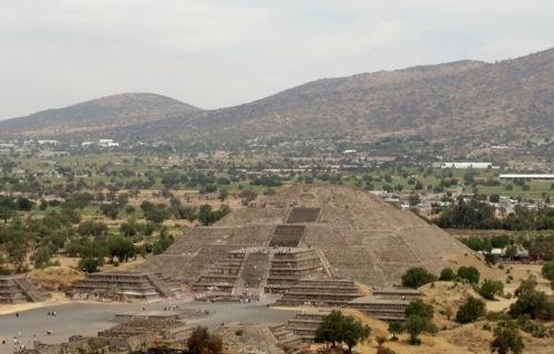 Teotihuacan - Temple of the Moon - Mexican Piramides - Pyramids - Aztec - Mexico - Piramide de la Luna