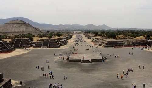 Archaeology, Teotihuacan, Mexico, Pyramids