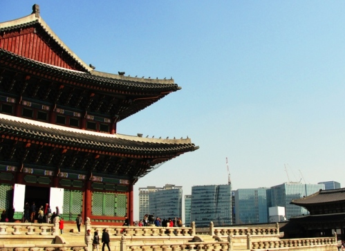 Geunjeongjeon - Gyeongokgung - Main Throne Hall - Seoul, South Korea - Joseon Dynasty