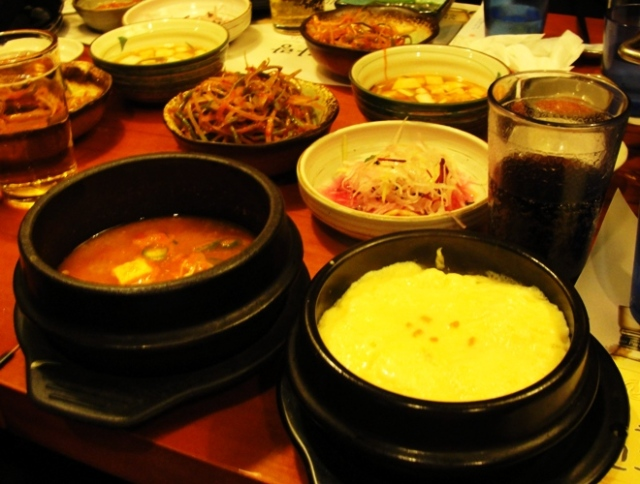 Korean BBQ - Charcoal Grill - Baked Egg - Korean Soup - Korean Food