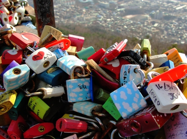 Love Padlocks - N Seoul Tower - Mount Namsan - Eternal Love