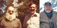 Three Generations of Beards - White Beards - Father, Son, Grandfather - Family Heritage - Irish Beards