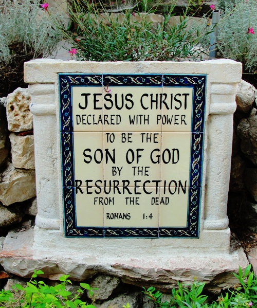 Garden Tomb - Jerusalem - Jesus Christ Ressurection - Easter