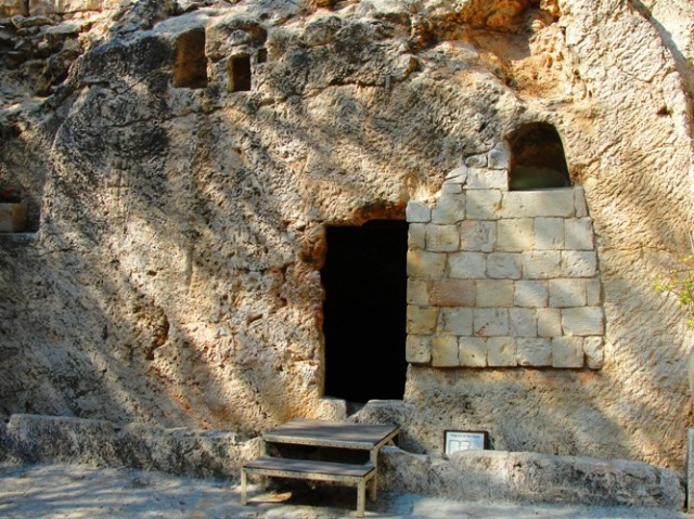 Garden Tomb - Jerusalem - Rock Hewn Tomb - Ressurection - Easter