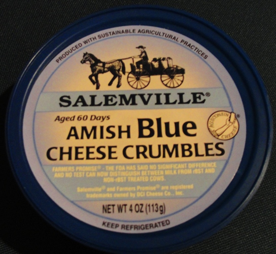 Amish Blue Cheese Crumbles - Richland, Wisconsin - Salemville - Amish - Amish Cheese