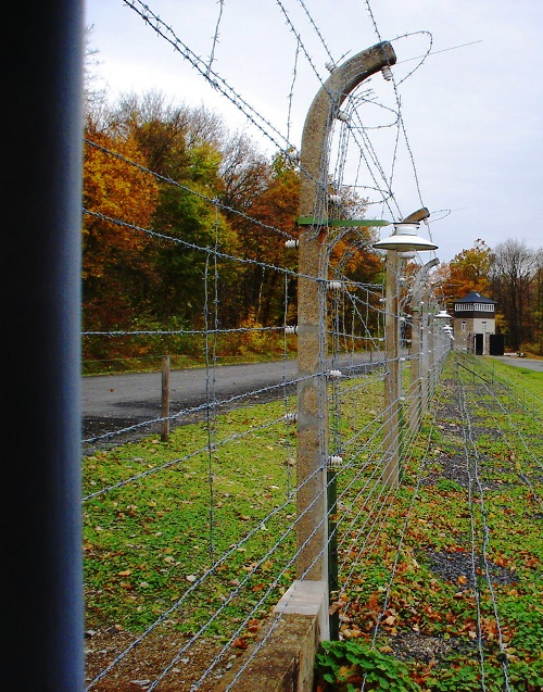Buchenwald Liberation - April 11, 1945 - Concentration Camp - Security Fence - Holocaust