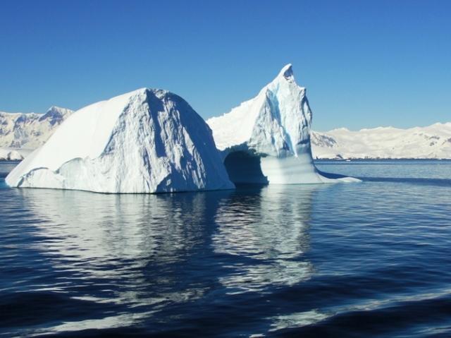 Iceberg in Antarctica - Melchior Island - Melchior Strait - Antarctic Cruise