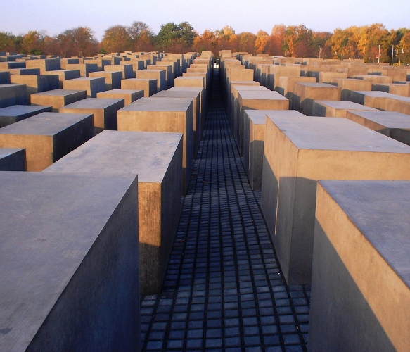 Holocaust Memorial - Berlin, Germany - Holocaust Remembrance Day - Yom HaShoah