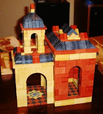 Ankerstein - Mosaic Set - Mosaic Floor - Fresco Floor - Decoration - Anchor Blocks