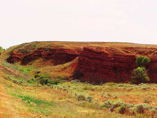 Red Hills - Clark County, Kansas - Ashland, Kansas - Gypsum Hills  - Red Dirt Country