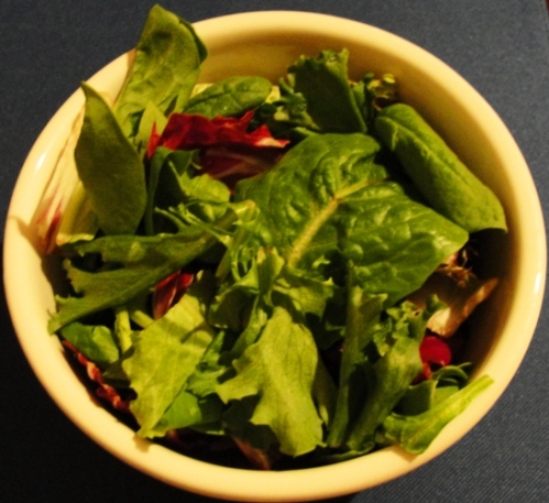 Spring Mix Salad - Spinach Leaves - Salad - Eating Healthy