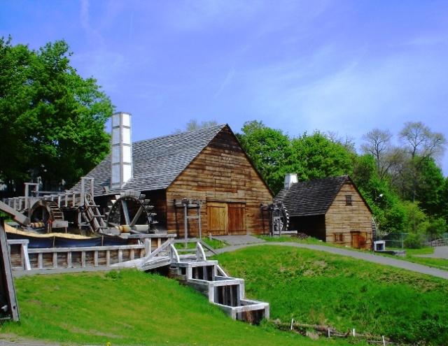 Saugus Iron Works - Saugus, Massachusetts - Boston - First Fire Engine - Joseph Jenckes - Colonial Invention