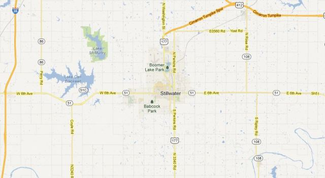 Stillwater, Oklahoma - Red Dirt County - No Justice - Stillwater Sound - Red Dirt Music