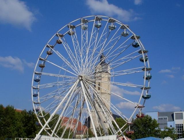 Ferris Wheel - Jena, Germany - All City Festival - Altstadtfest - Carnival