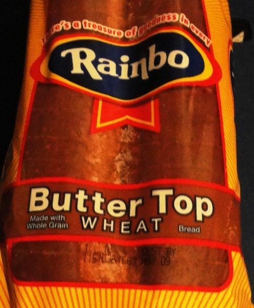 Rainbo Butter Top Wheat Bread - Earthgrains Bakery - Home Pride Bread Replacement? - Flowers Foods