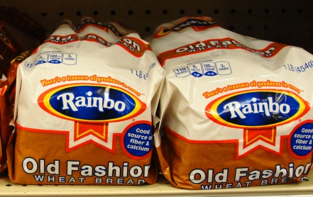 Rainbo Old Fashion Wheat Bread - Home Pride Replacement? - Earthgrains Bakeries - Flowers Foods