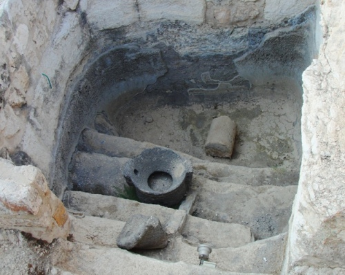 Mikvah - Ritual Purification Bath - Temple in Jerusalem - Day of Pentecost