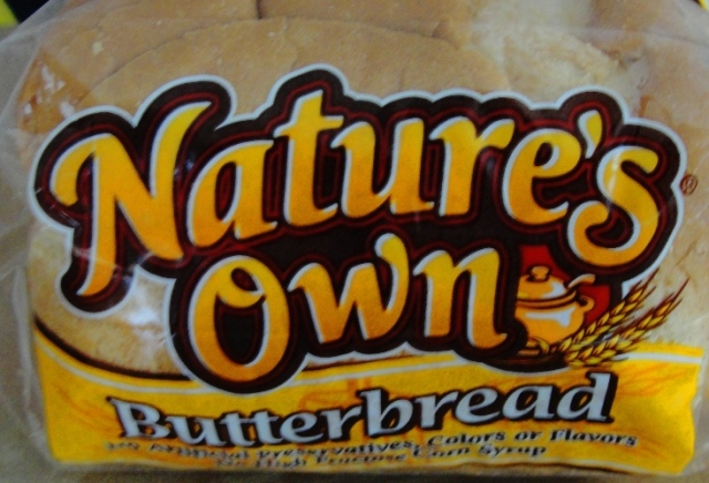 Butterbread - Nature's Own Butterbread - Home Pride Replacment? - Vacation Bread
