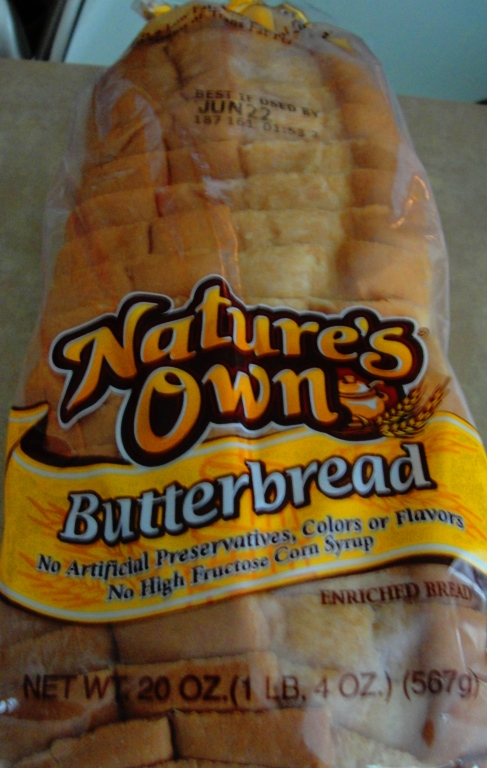Nature's Own Butterbread - Flowers Foods - Home Pride Bread Replacement