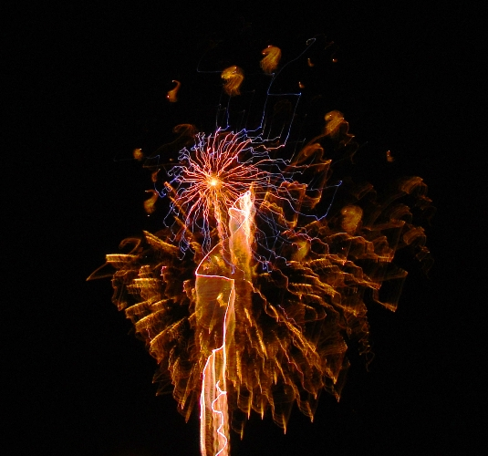 Fireworks - Patterson, California - Apricot Fiesta