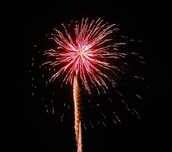 Fireworks - Patterson, California - Apricot Fiesta - 2013 - Blogiversary