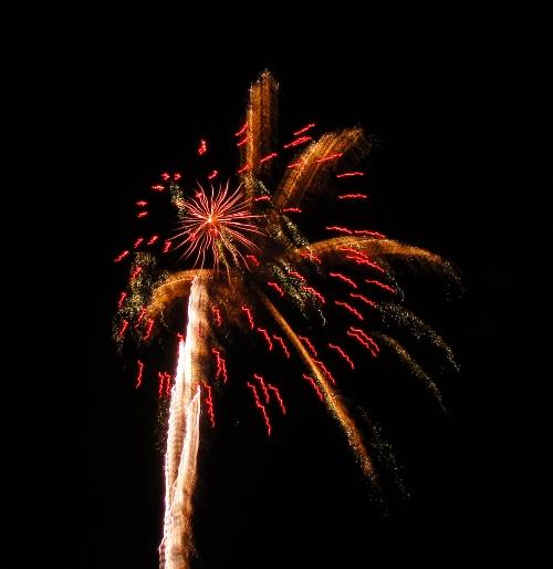 Apricot Fiesta Fireworks - Patterson, California - Blogiversary - Celebration - Summertime Fireworks