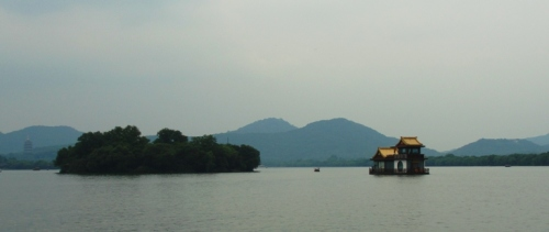 West Lake - Hangzhou, China - House Boat - Mountains - Islands - Chinese Culture