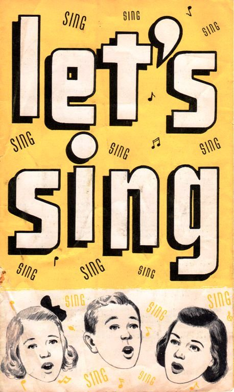 Let's Sing - Songbook - Preferred Risk Mutual Insurance Company - Song Sheet