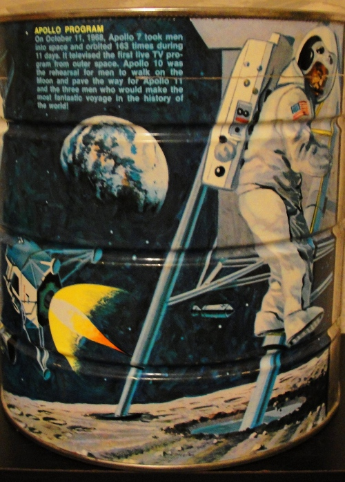 Moon Landing - Apollo 11 - Neil Armstrong - Coffee Can - Butternut Coffee - Space Program