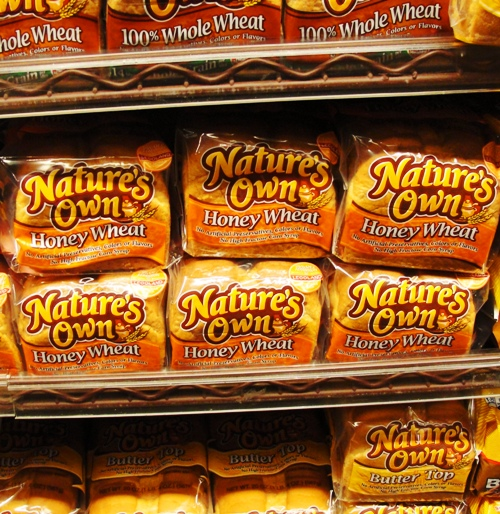 Nature's Own Honey Wheat Bread - Flowers Foods - Northern California - Home Pride Wheat Replacement?