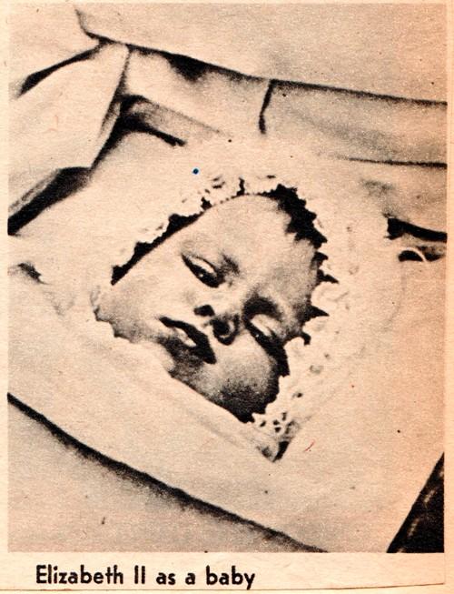 Queen Elizabeth II - Queen's Baby Picture - Elizabeth II as baby - Princess Elizabeth