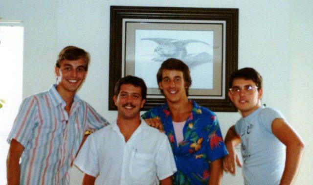 College Roommates - Darrin Bruner - Of One Accord - Gospel Quartet