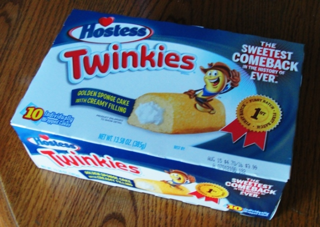Twinkies - Hostess Twinkies - First Batch - Sweetest Comback in the History of Ever