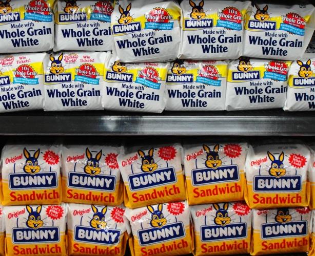 Bunny Bread - Bunny Sandwich - Bunny Whole Grain Wheat - Home Pride Replacement - Bread Aisle