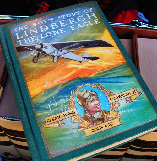 The Boy's Story of Lindbergh the Lone Eagle - Boy' Story Series - Charles Lindbergh - Old Book - Biography