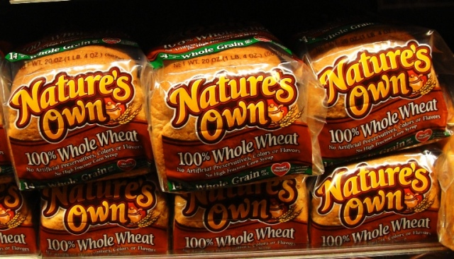 Nature's Own 100% Whole Wheat - Premium Bread - Home Pride Replacement - Flowers Foods