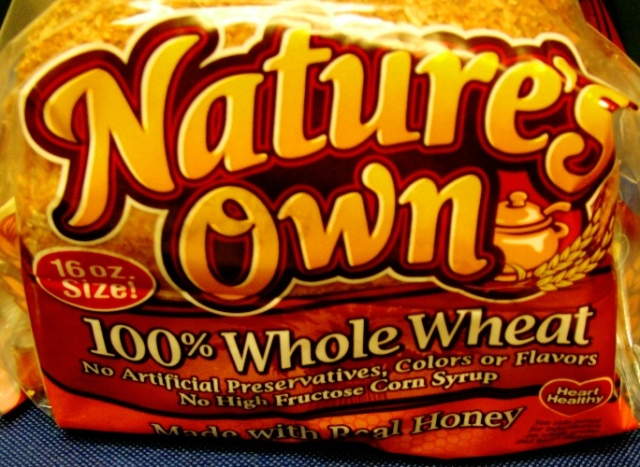 Nature's Own 100% Whole Wheat - Home Pride Replacement? - Bread - One Pound Loaf - WIC qualified bread