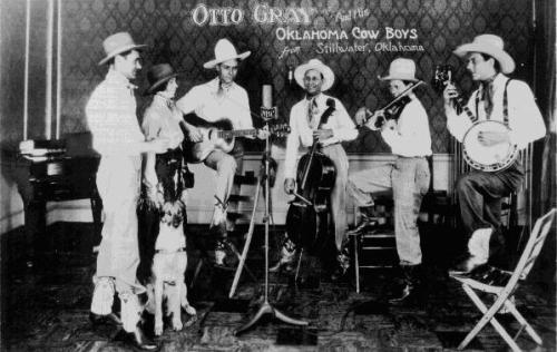 Otto Gray and his Oklahoma Cowboys - Stillwater, Oklahoma - Western Music - Bluegrass messenger