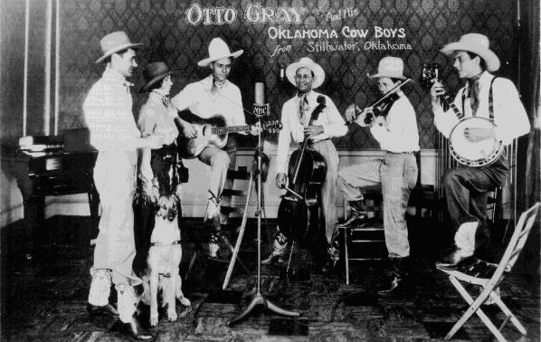Otto Gray and his Oklahoma Cowboys - Stillwater, Oklahoma - Western Music - Bluegrass messenger