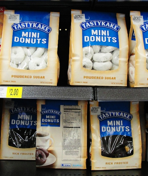 Tastykake - mini donuts - Snack Cakes - Flowers Foods - New Products - National Snack Cake Line