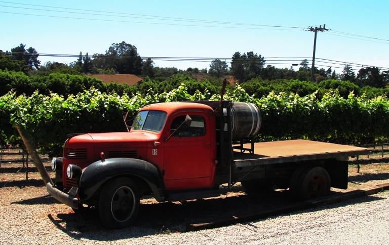 Old truck wedding