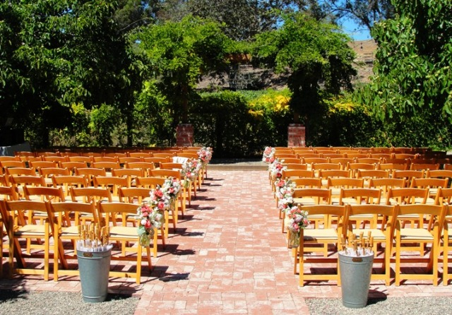 Wedding seating - The Gardens at Peacock Farms - Wedding ceremony - Marriage
