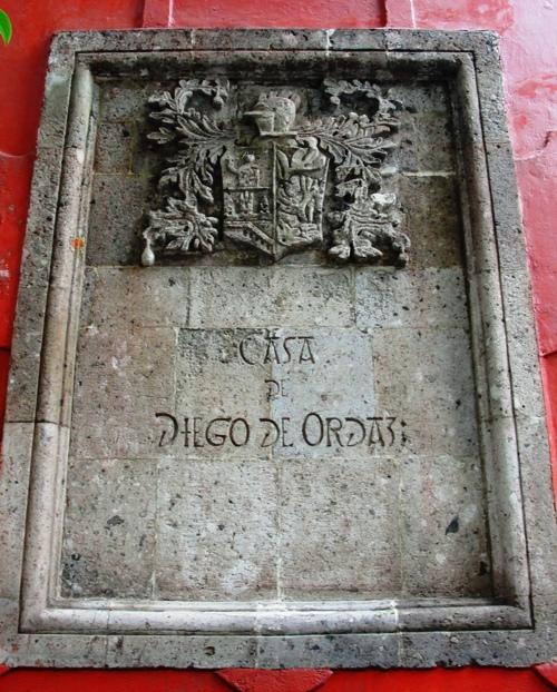 Casa de Diego de Ordaz - Spanish Conquistador - Coyoacan - Historic Buildings - Mexico