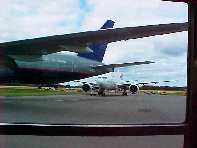 September 11, 2001 - 9/11 - Planes on runway in Edmonton, Canada - Long Journey
