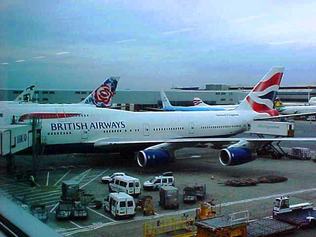 Heathrow Airport - British Air 747 - September 11, 2001 - 9/11