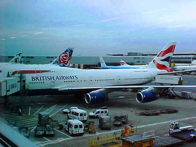 Heathrow Airport - British Air 747 - September 11, 2001 - 9/11