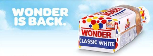 Wonder is Back - Wonder Bread - Classic White Bread - Return of Wonder Bread - Hostess Brands - Flowers Foods