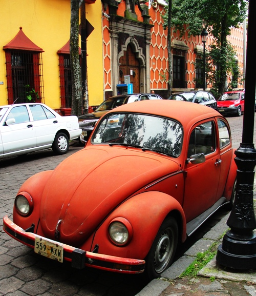 Classic VW Beetle - Volkswagen Beetle - Mexico City - Slug Bug - Punch Buggy