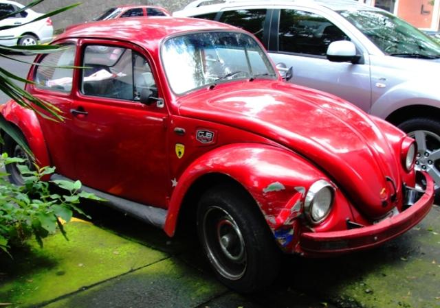 Classic VW Beetle - Volkswagen Beetle - Mexico City - Slug Bug - Punch Buggy